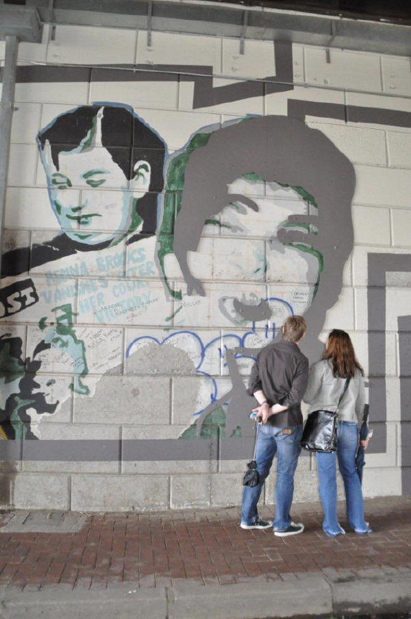 Fordsburg, the wall near Feitas
