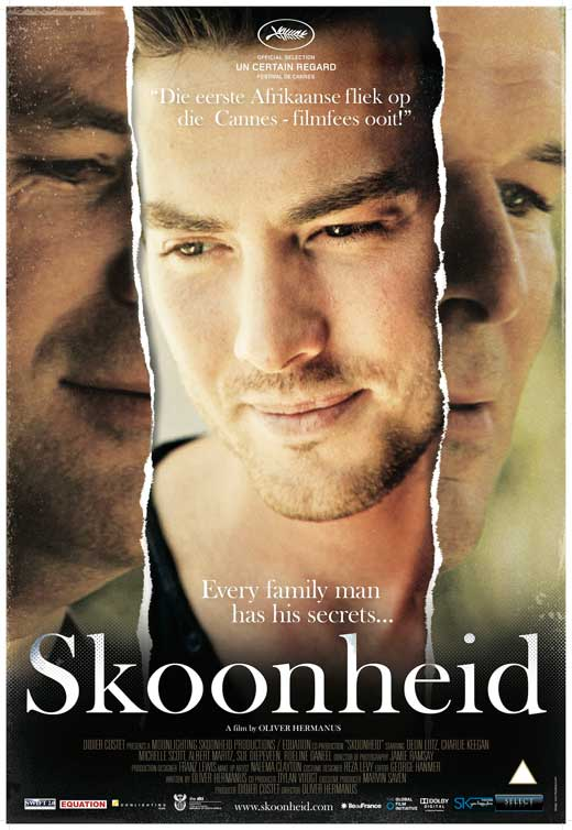 "Skoonheid, which means ""beauty"" in Afrikaans"