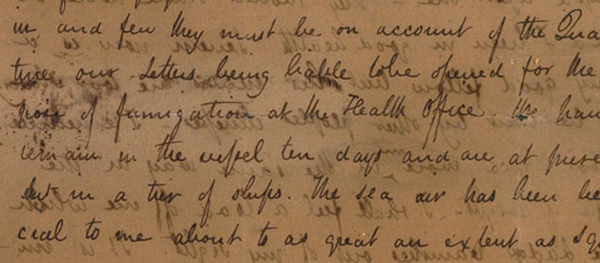 Keats' letter to Mrs Brawne, The Keats Collection