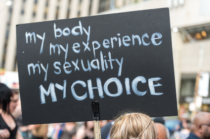 My body my experience my sexuality my choice